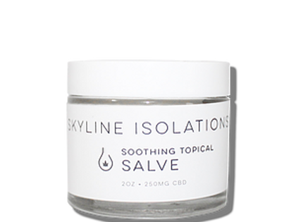Skyline Isolations - 2 oz Lotion 250mg