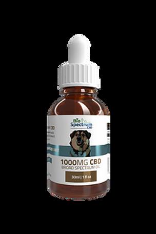 BioSpectrum Dog Tincture 1000mg Broad Spectrum