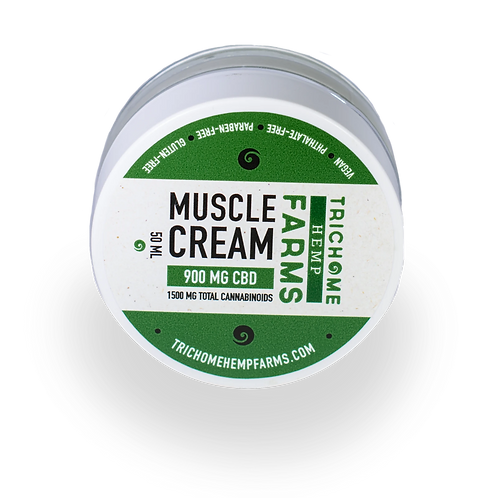 Trichome Farms 900mg Muscle Cream
