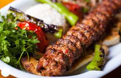 Louleh Kebab Plate