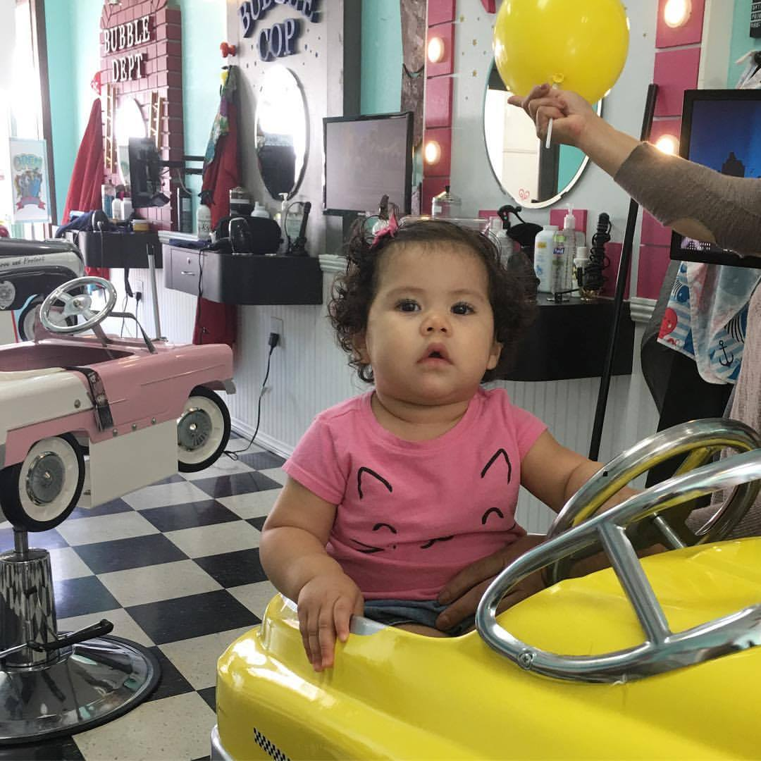 Kids Hair Salon Los Angeles Bubble Cuts