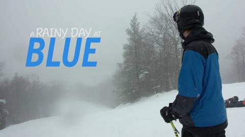 A Rainy Day at Blue