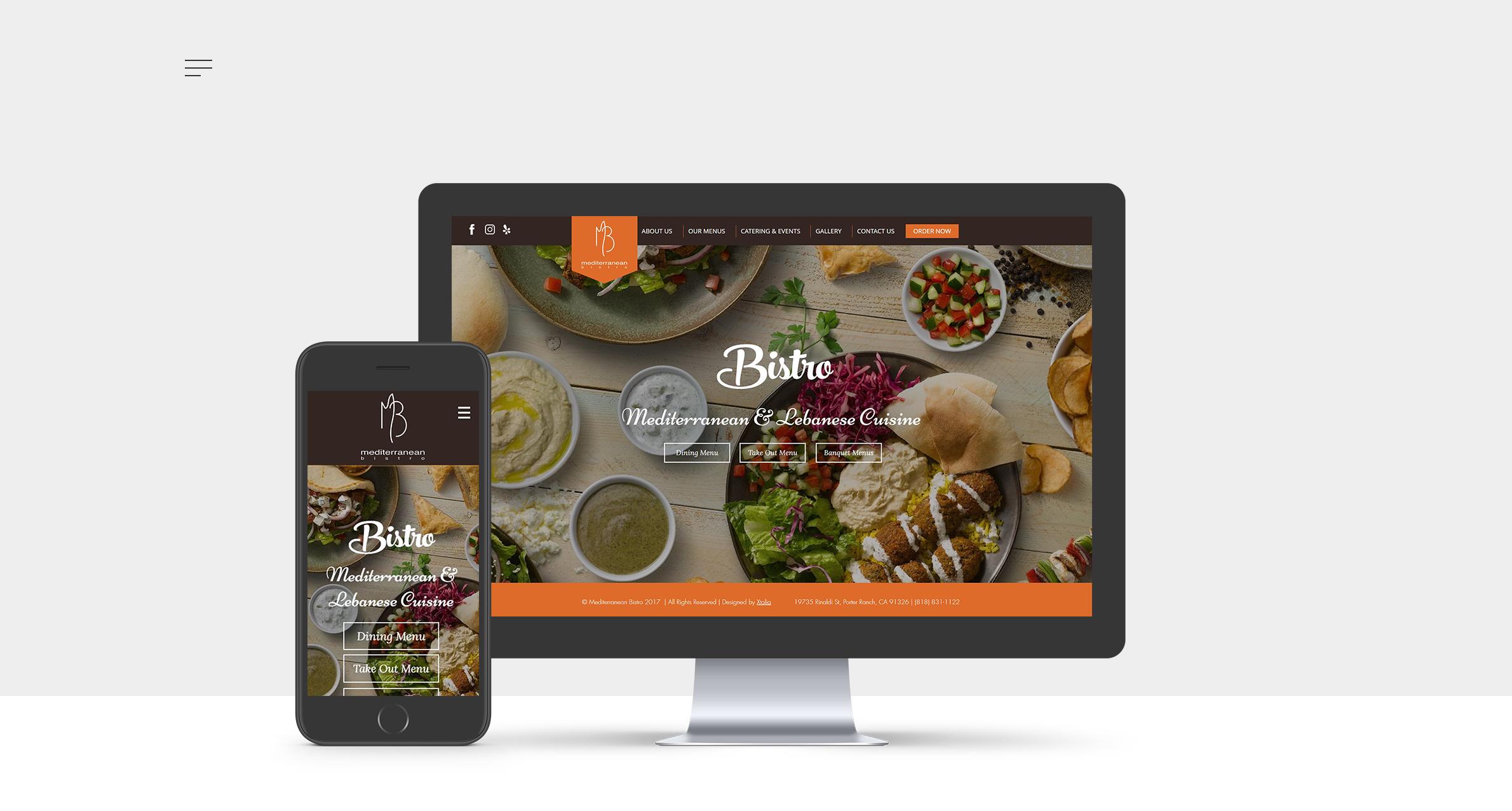 Mediterranean Bistro Website