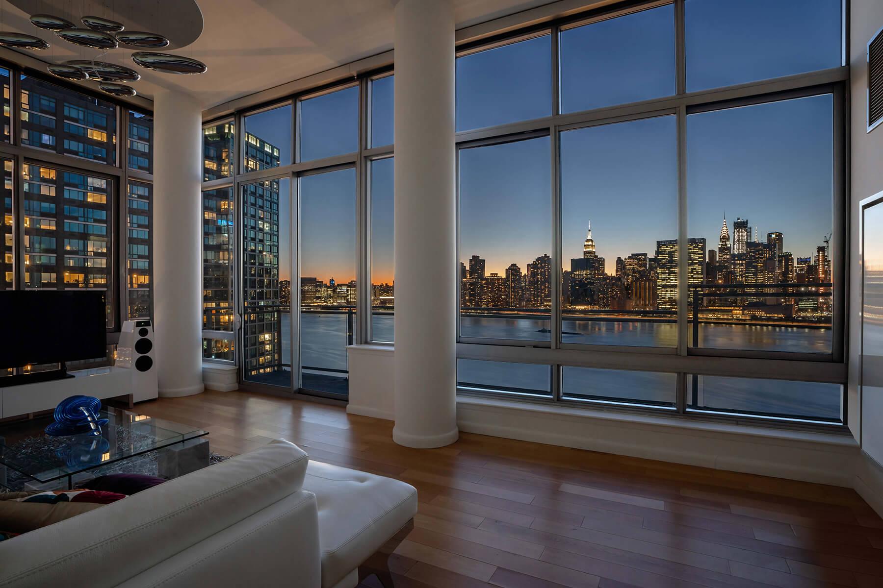 NYC Penthouse at Twilight, NY