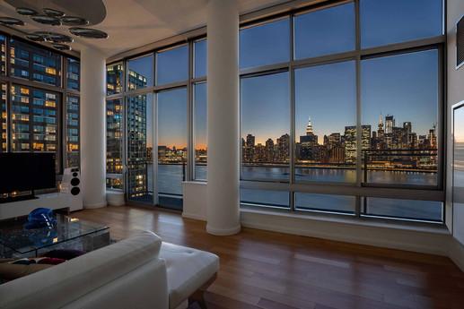 New York City, twilght, Cityscape