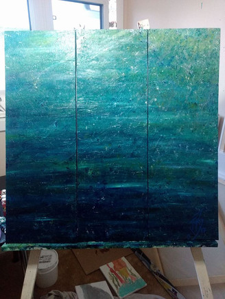 Water & Light 2 (Triptych)