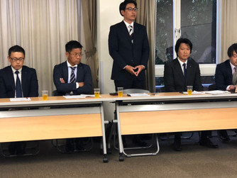 5/23 鳥取県西部地区青年経済団体連絡協議会 新旧役員会