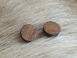 Woodlery earings