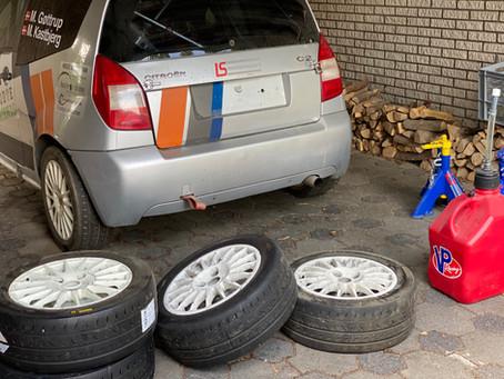 Så gør vi bilen klar igen.....