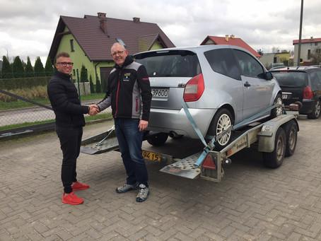 Citroen C2 VTS hentet i Polen