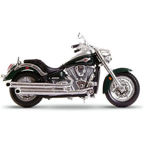 Metal Kawasaki Ninja Vulcan 2000 1:18 Scale Diecast Motorcycle