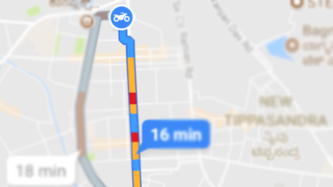 New Update on Google Map - Google Maps motorcycle mode finds shortcust for indian bikers.