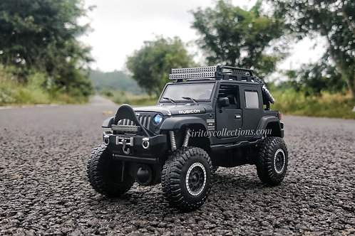Rubicon Jeep Die Cast Metal Miniature