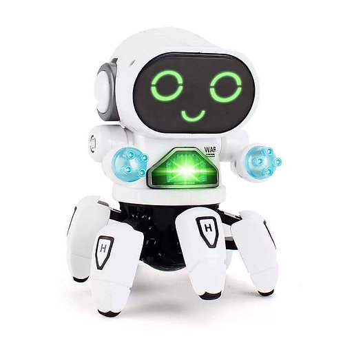 Bot Robot Pioneer Colorful Lights and Music All Direction Movement Dancing Robot