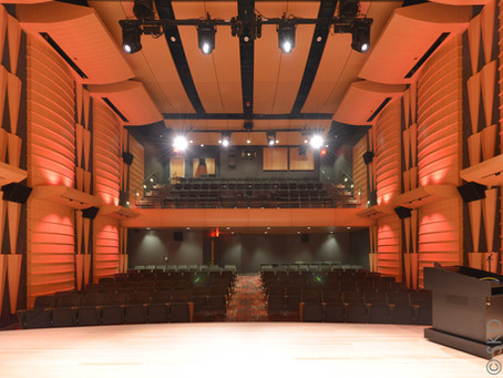 SKD served as theater consultant for the Ferman Center for the Arts