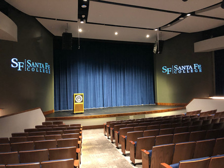 SKD serves as theater consultant with Brame Architects for Santa Fe college