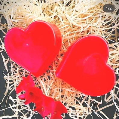 Handmade Heart Shaped Soaps