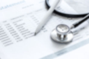 billing statement for for medical servic