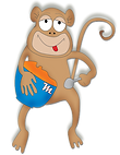 zoo phonics monkey alphabet phonics, children's songs, phonics apps