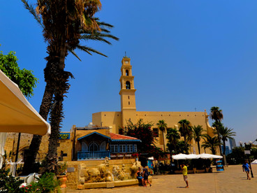 Trip to Tel Aviv - Israel und Petra in Jordanien
