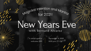 New Years Magickal Intention