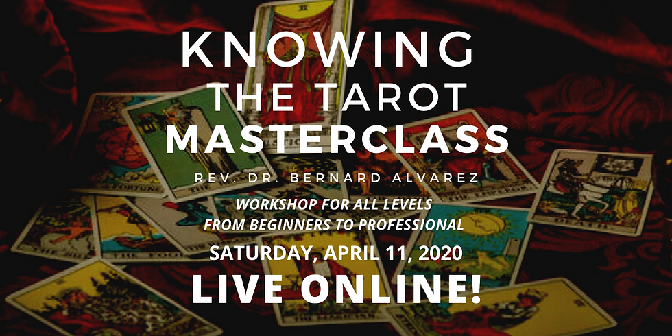 Knowing the Tarot Masterclass ONLINE