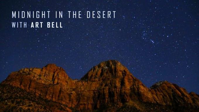 Bernard Alvarez on Midnight in the Desert with Dave Schrader