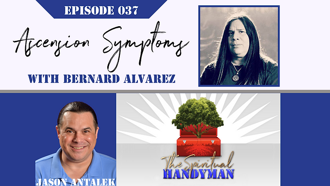 Bernard Alvarez on The Spiritual Handyman Internet TV Show