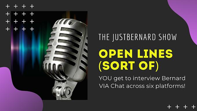 Open Chat Audience Interview of Bernard Alvarez