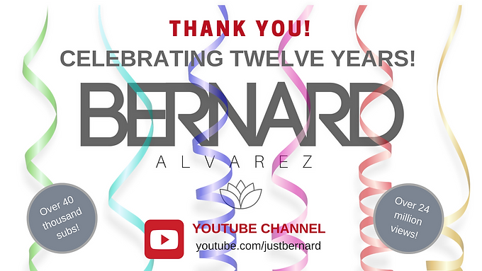 You Tube channel turns 12!