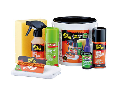 Dirtwash Cleaning Buckets - Pit Stop Cleaning Kit