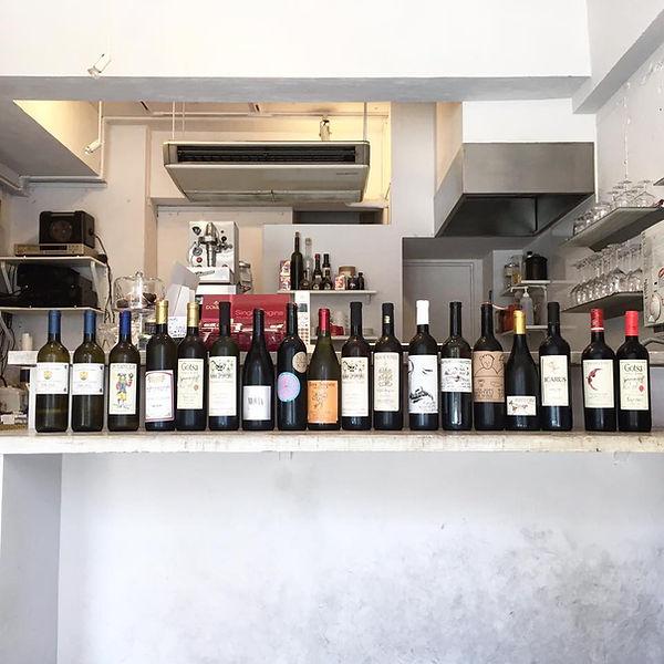 nonna & sidhi shop georgian wine ジョージアワイン イタリア オーガニック食材 恵比寿