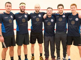 The Wimbledon Club Squash Squared Team