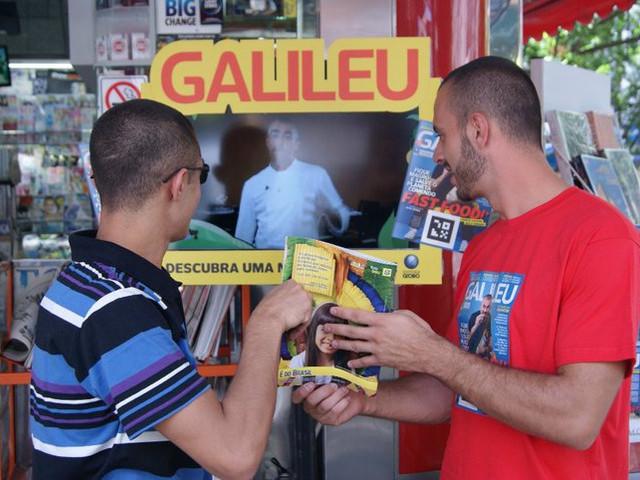 Realidade Aumentada Galileu