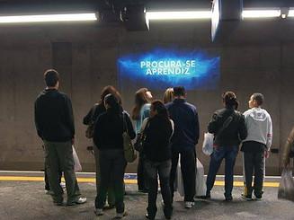 Projeção Metro Walt Disney