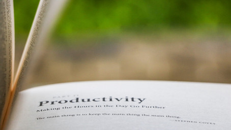 Why Aren't My People More Productive?