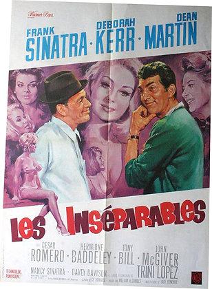 Affiche 1965 Les INSÉPARABLES par MASCII - SINATRA MARTIN