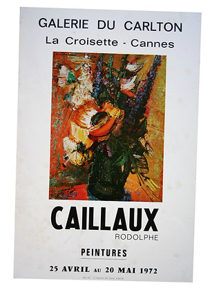 Rodolphe CAILLAUX - Peintures CARLTON CANNES - 1972