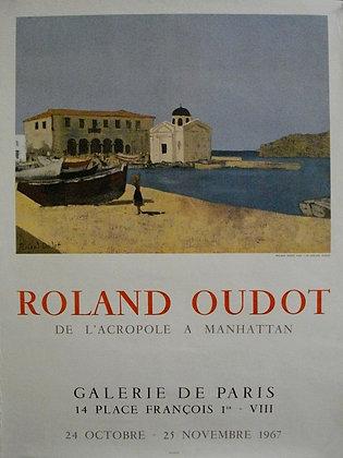 Roland OUDOT - De l'Acropole à Manhattan - 1967