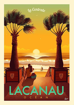Affiche CLAVE Illustration : LACANAU