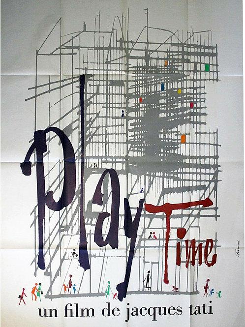 Affiche PLAYTIME de Jacques TATI - 1967