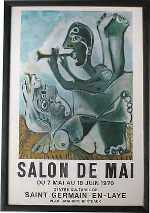 PICASSO - Exposition SALON de MAI 1970