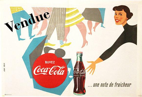 COLIN Jean COCA COLA 1960
