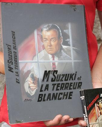 Gouache Originale de Michel GOURDON 1962 Série Noire