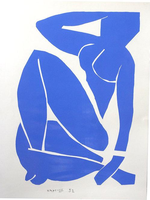 Henri MATISSE - Nu Bleu III (1952) Editions Nouvelles Images 1988