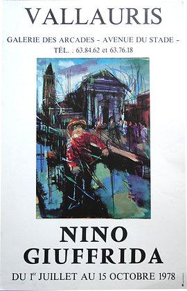 Nino GIUFFRIDA - Expo Vallauris - 1978