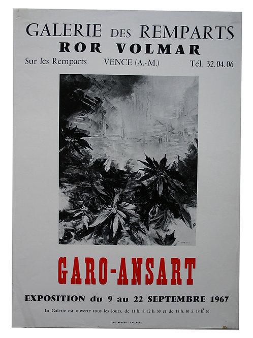 Affiche EXPO - GARO-ANSART 1967
