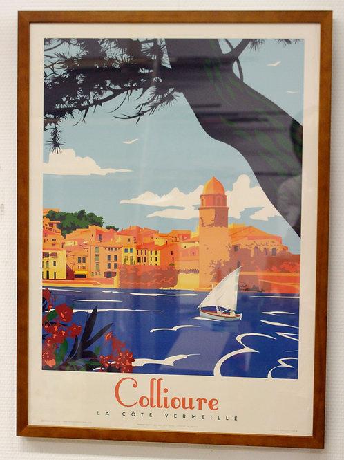 Affiche Encadrée Collioure