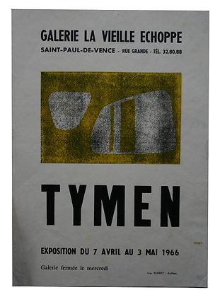 Tymen - Galerie la vieille échoppe 1966