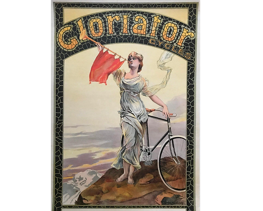 Affiche de Maurice Marodon - Cycles Gloriator c.1900